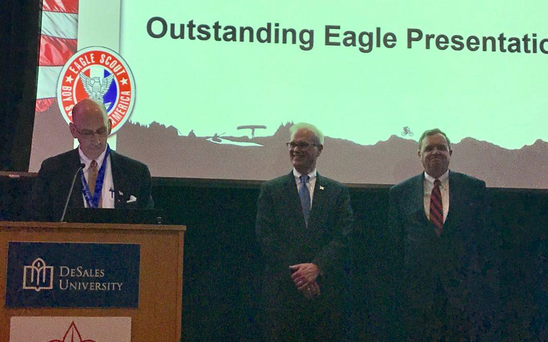 Joseph Zator awarded NESA Outstanding Eagle Scout!