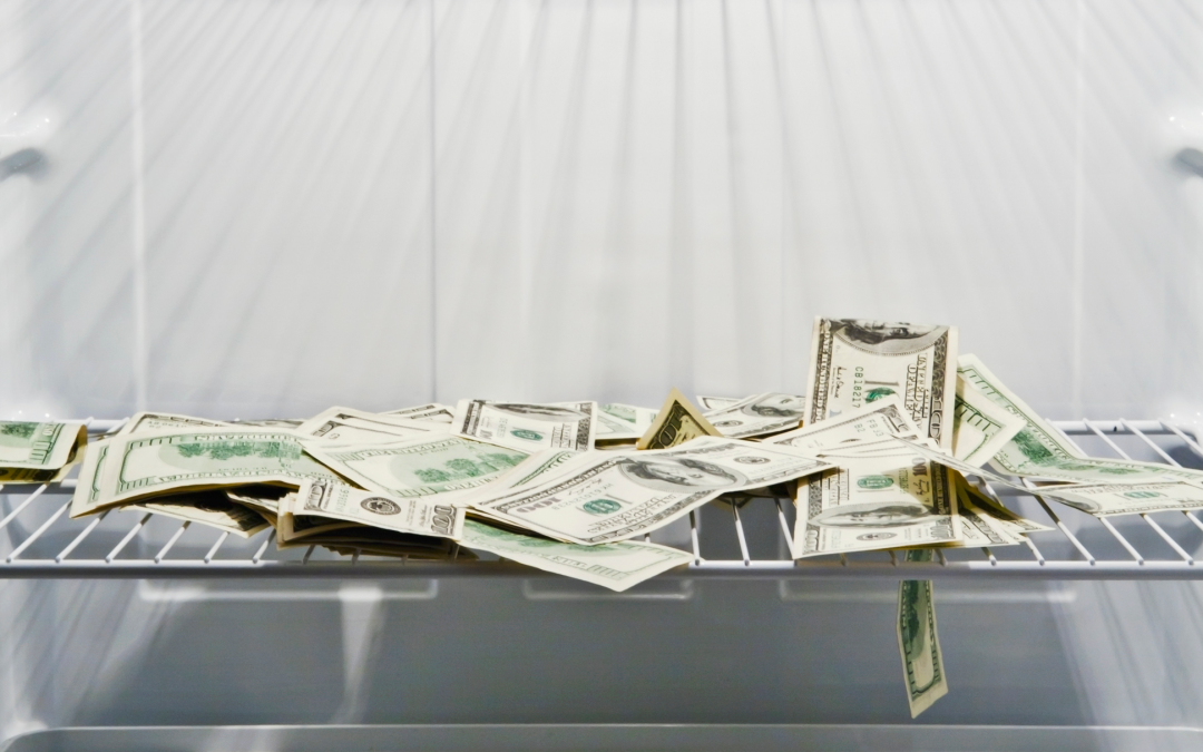 Don't cool your cash in the fridge after filing Bankruptcy!